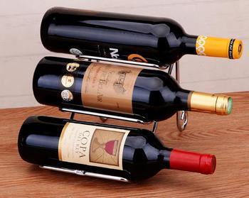 Proste galwanizacja Craft wino stojak ze stali nierdzewnej czerwone wino piwo pojemnik na wino gospodarstwa domowego stojak na butelki do wina akcesoria stojak na wino tanie i dobre opinie CN (pochodzenie) Stojaki na wino Metal iron Wiadra Chłodnice i świeczki Ekologiczne Na stanie