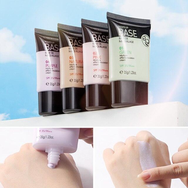 NEW Laikou Full Cover 4 Color Base Concealer Makeup 35g Eye Dark Circles Cream Face Corrector Waterproof Make Up Korean Cosmetic 4