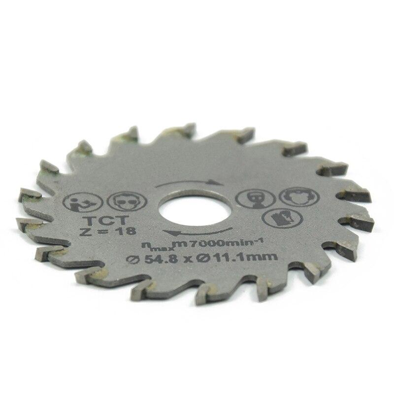 18T HSS Rotary Tool Circular Saw Blades Cutting Discs With Mandrel Cutoff