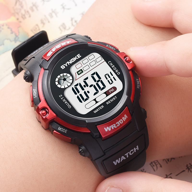 Sport Kids Children Watch Boy Girl Watch Clock Child Student LED Digital Wristwatch Electronic Wrist Watches For Girls Boys Gift