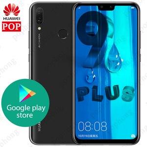 Image 1 - Ban Đầu Huawei Y9 2019 Thưởng Thức 9 Plus 4GB 128GB Smartphone 6.5 Inch 2340X1080 Kirin 710 Octa core Android 8.1 4000 MAh 4 * Camera