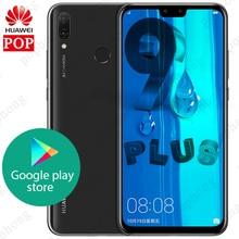 Oryginalny Huawei Y9 2019 ciesz się 9 plus 4GB 128GB Smartphone 6.5 cala 2340x1080 Kirin 710 Octa Core Android 8.1 4000mAh 4 * aparat
