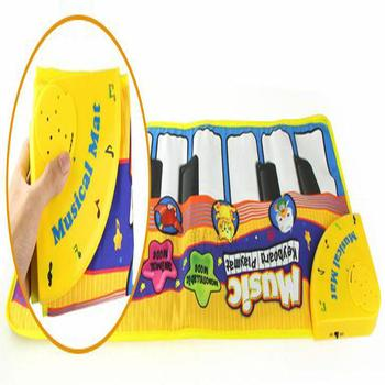 GloryStar Kids Infant Baby Fingers Touch Electronic Piano Pattern Music Game Carpet Educational Toy