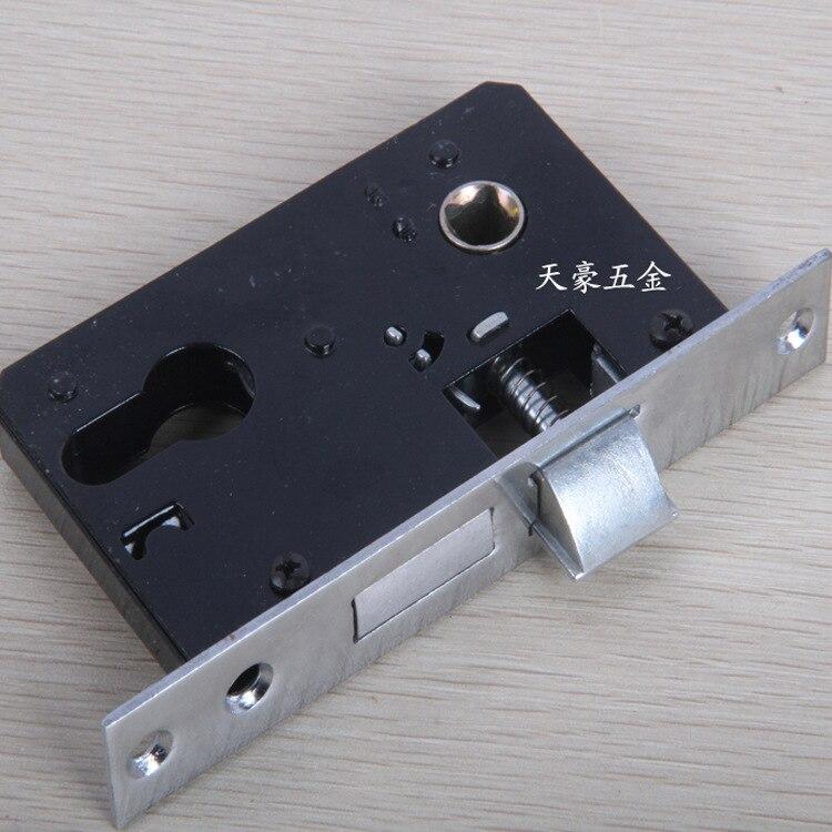 Small 50 Door Lock/Lock Tongue Inner Door Lock Parts Room Door Lock Hardware Accessories Side Long 12.5 Cm