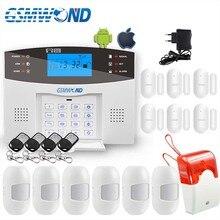 Komfortable Tastatur M2B Wireless GSM alarm system, Lcd bildschirm, Für Home Einbrecher Alarm System, Sensor Detektor Alarm