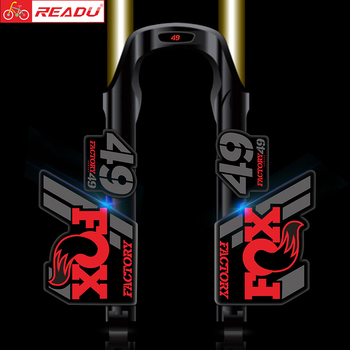 2020 fox 49 factory fork sticker fox49 front decal MTB bicycle stickers Bicycle Accessories
