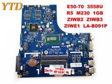 Оригинальный Для Lenovo E50-70 Материнская плата ноутбука E50-70 3558U R5 M230 1 ГБ ZIWB2 ZIWB3 ZIWE1 LA-B091P испытанное хорошее Бесплатная доставка
