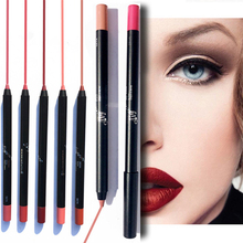 New Makeup Lipstick Pen Waterproof Long-lasting Lip Liner Velvet Lipst