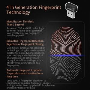 Image 5 - Identification Capturing USB Interface Security Key Home Sensor Reader Computer Fingerprint Scanner Office PC For Windows 10