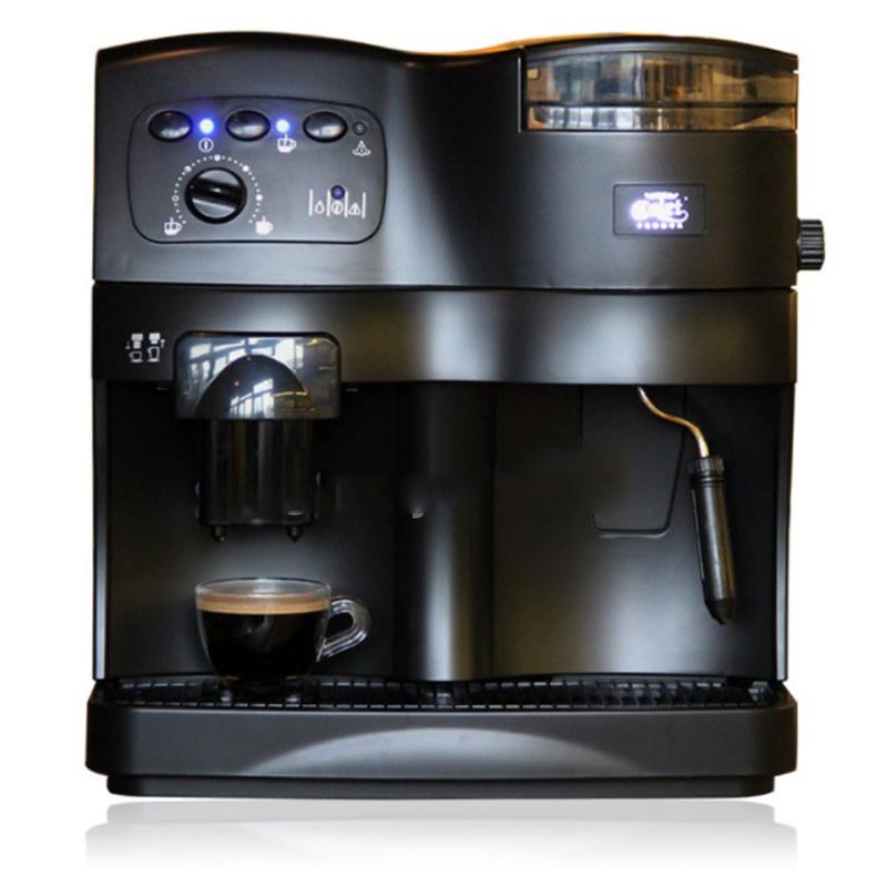 Automatic Household Coffee Machine with Grinder Commercial Pump Pressure Multi function Coffee Machine ABS Plastic 220V in Coffee Makers from Home Appliances