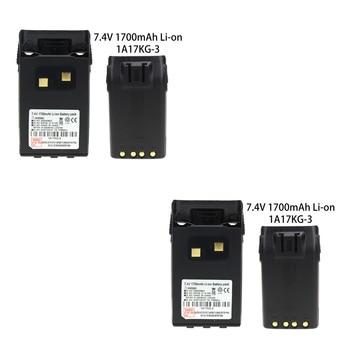 2X Li-ion Battery for Wouxun KG-KG-UV6D KG-659 KG-669 KG-679 KG-689 1700mAh цена 2017