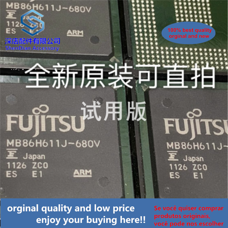 1pcs 100% Quality Orginal New Best Qualtiy MB86H611J-680V FUJITSU BGA
