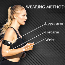 Waterproof Heart Rate Monitor Tracker Hand Strap Bluetooth 4.0 ANT Fitness Smart Sensor Compatible Garmin Bryton For Gym Outdoor