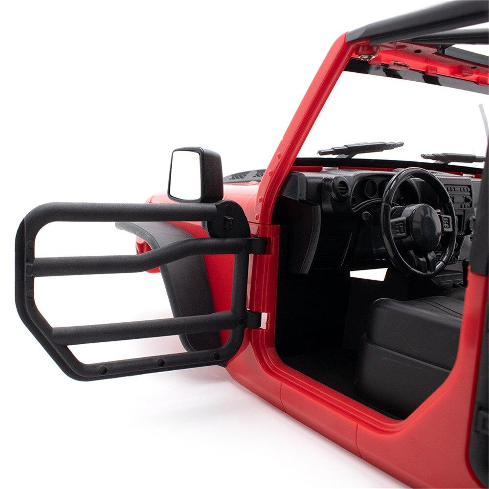 Front /& Rear Half Door Rail for KYX SCX10 II NEW Wrangler 313mm Car Body Model