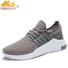 Buy 2019 Male Breathable Comfortable Casual Shoes Fashion Men Canvas Shoes Lace Up Wear-resistant Men Sneakers Zapatillas Deportiva directly from merchant!