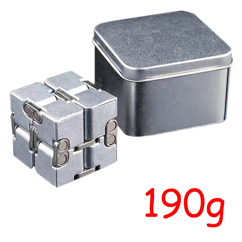 Cube-Toys Infinity-Cube EDC Metal Relief Magical Anxiety Aluminium for Deformation Premium img2