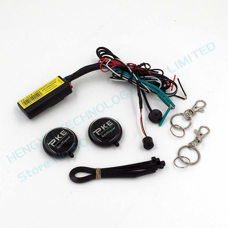 RFID 2.4GH bezprzewodowy samochód immobilizer blokada silnika EL-2,anti-porwanie on off inteligentne odcięcie obwodu, automatyczna blokada odblokuj silnik