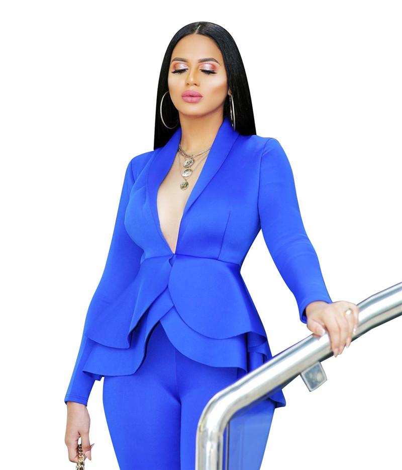 Business Tracksuit Full Sleeve Set Women