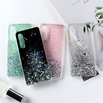Soft Silicone Bling Glitter Case For Huawei Y9 Prime 2019 Y5 Y6 Y7 Y9 2018 Honor 20s 10 Lite 7A 7C Pro 7S P Smart Z Cases Covers case on honor 7a 5 45 back galss case for huawei y5 2018 customized photo glass case for y5 prime y5 lite 2018 covers honor 7a