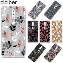 ciciber Tree Leaves Cover for Nokia X6 X7 X5 X3 TPU Phone Case 9 8 8.1 7 7.1 6 6.1 5 5.1 3 3.1 2 2.1 1 Plus PureView