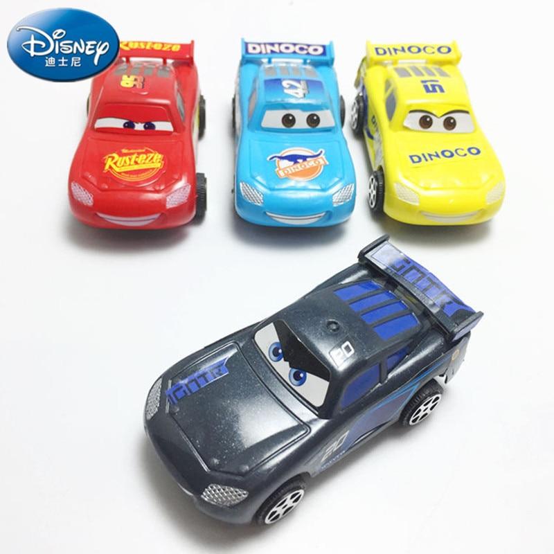 Pull Back Cars Toy 3 Lightning Jackson Storm Mack Uncle Truck Model for Kids Gif