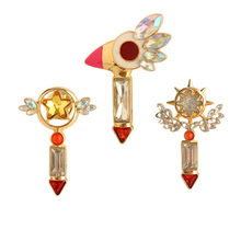 Cardcaptor Kartu Captor Sakura Crystal Magic Wand Rambut Pin Klip Lucu Perhiasan Pesona Aksesori Cosplay Prop Gift Girl(China)
