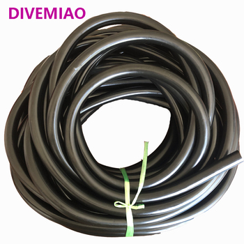 Cena promocyjna! 17 5mm łowiectwo podwodne gumowa rurka speargun band elastyczna rurka lateksowa tanie i dobre opinie DIVEMIAO Spearfishing rubber tube Inter amber Outer black 3 5mm 500 elastic stretch 1meter 2 meter 3 meters no cut