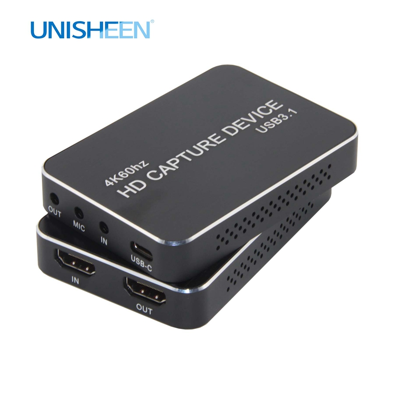 4K Erfassen Karte UHD USB3.0 VIDEO ERFASSEN Dongle Spiel Streaming Live-Stream Broadcast 2160P 1440P 1080P OBS/vMix/Wirecast/Xsplit
