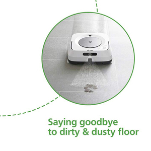 Image 5 - 12 PCS Cleaning Cloth Accessories for IRobot Braava Jet M6 (6110) Wi Fi Connected Robot Mop Vacuum Cleaner Cleaning Cloth IRobot