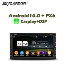 Carplay PX6 Car DVD Player DSP TDA7851 Android 10 4G + 64GB ROM LTE Google map RDS Auto Radio Wifi Bluetooth 5.0 For universal(China)