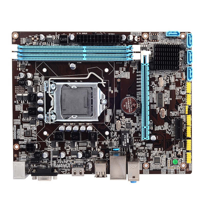 H55 <font><b>Motherboard</b></font> New Lga1156 Ddr3 Supports I3 I5 I7 Cpu <font><b>Motherboard</b></font> Pci-Express Usb Ports Mainboard Main Board For Computer image