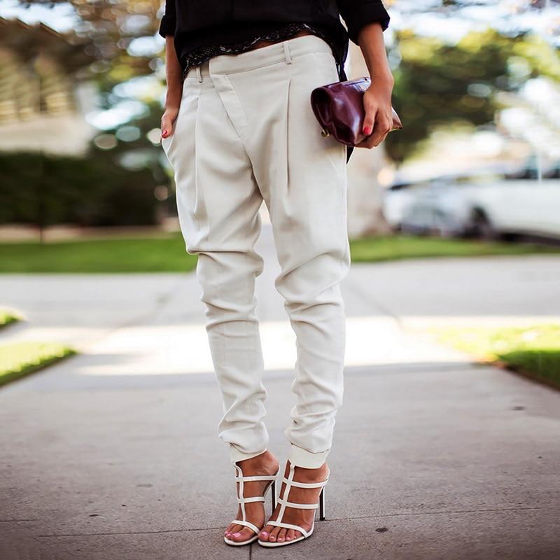 Streetwear Pencil Pants Women Casual Joggers Black High Waist Loose Female Trousers Korean Style Ladies Pants Capri