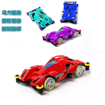 Four-wheel Drive Car Model Toy Baby 2-8-Year-Old Boy Four-Wheel off-Road Classic Racing Outdoor games