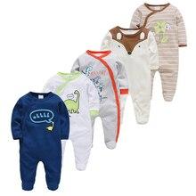 5pcs Sleepers Baby Pyjamas Newborn Girl Boy Pijamas bebe fille Cotton Breathable Soft ropa bebe Baby Pjiamas