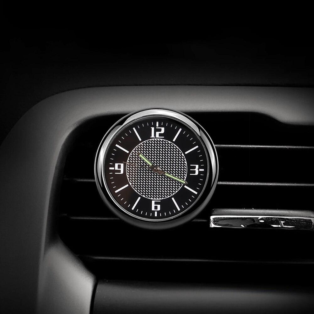 Car Clock Auto Accessories interior Dashboard Decoration For Auid A1 A2 A3 8V 8P 8L V8 A4 B5 B6 B7 B8 B9 A5 A6 C5 C6 C7 A7 Q3 Q5