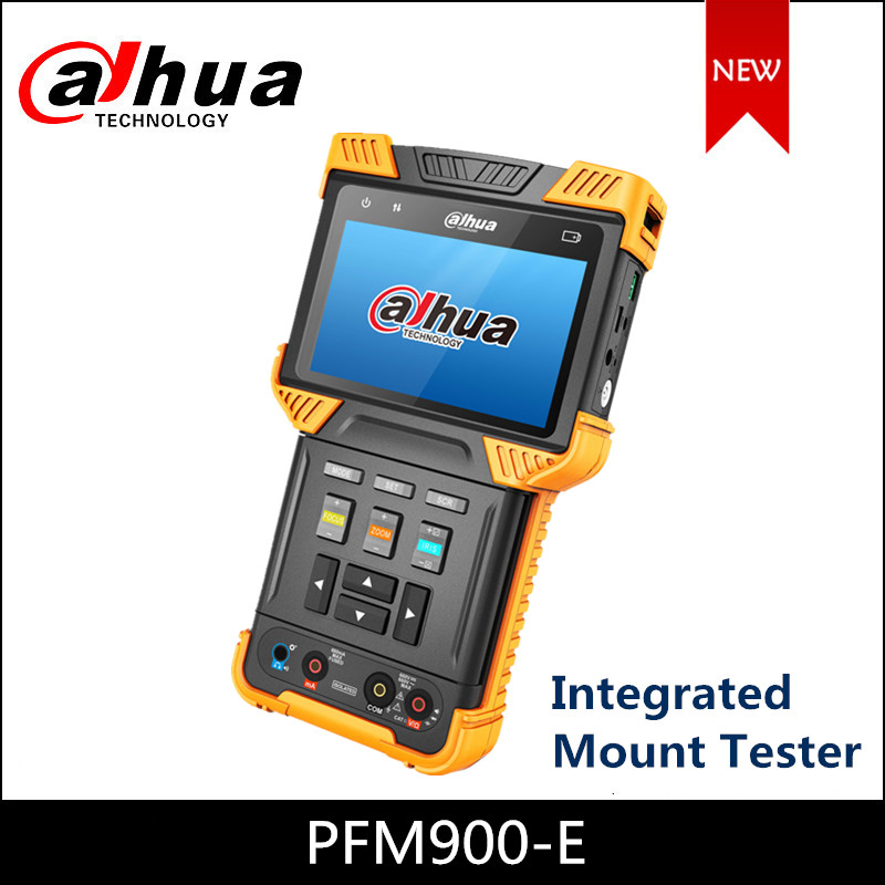 Dahua DH-PFM900-E Integrated Mount Tester For IPC, HDCVI, TVI, AHD, CVBS Camera Support PoE+