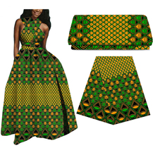 100% Cotton Africa Ankara prints wax patchwork real dutch wax fabric best quality African tissu sewing material for dress 6yards