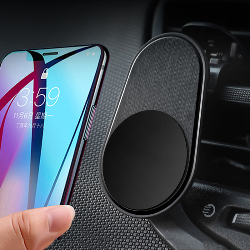 Metal Magnetic Car Phone Holder Mini Air Vent Clip Mount Magnet Mobile Stand For IPhone 6 7 8 X XS Max Xiaomi Smartphones In Car