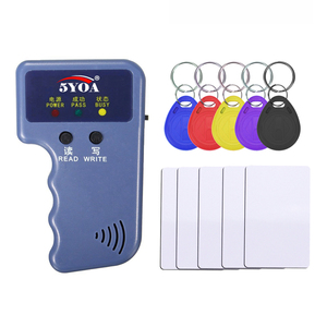 Image 1 - Handheld 125KHz EM4100 TK4100 RFID Copier Writer Duplicator Programmer Reader EM4305 T5577 Rewritable ID Keyfobs Tags