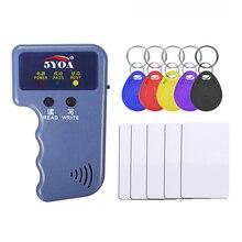Handheld 125KHz EM4100 TK4100 RFID Kopierer Writer Duplizierer Programmer Reader EM4305 T5577 Wiederbeschreibbare ID Keyfobs Tags