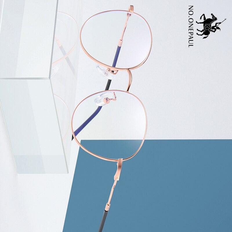 NO.ONEPAUL Super Light Frame Eyeglasses Anti Blue Light Lens Computer Glasses Spectacles Frame Blue Light Blocking Glasses