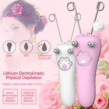 USB Electric Epilator Body Facial Hair Removal Defeatherer C