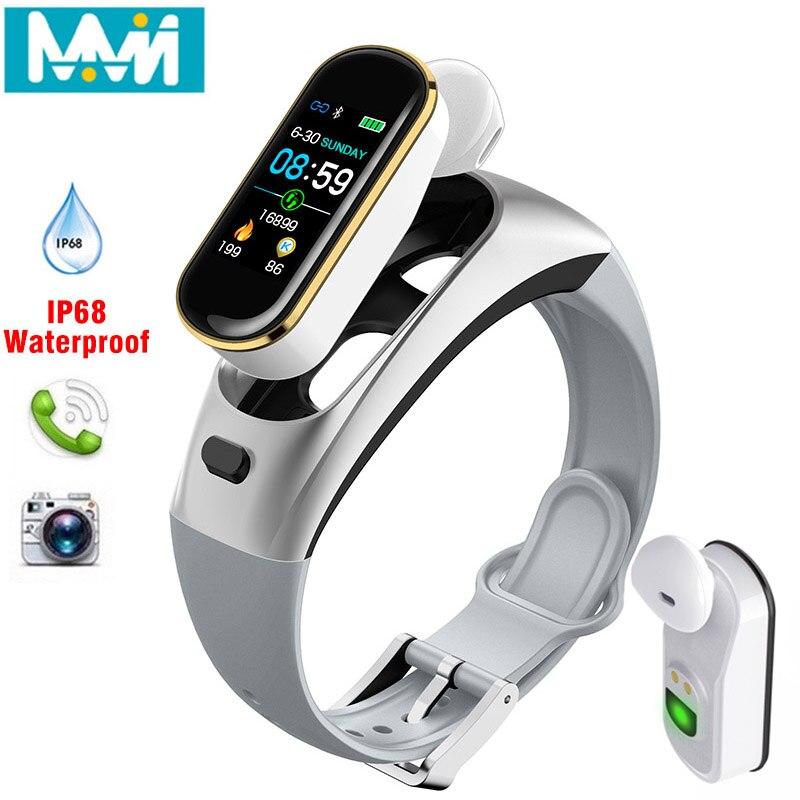 Цветная гарнитура H109, умный браслет, монитор сердечного ритма, спортивные Смарт-часы, шагомер, фитнес-трекер, браслет