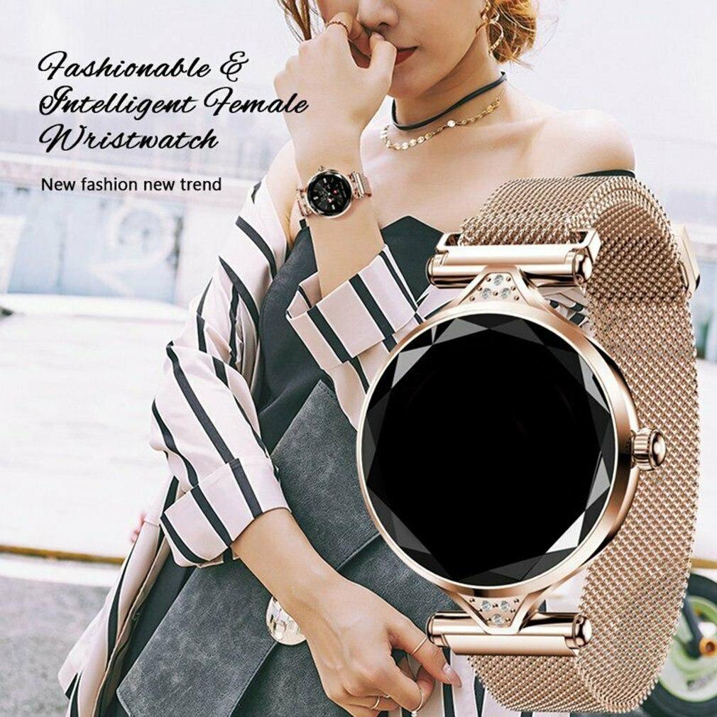 H1 Lady Smart Watch Fashion Women Watch Heart Rate Monitor Fitness Tracker Women Smartwatch Bluetooth Waterproof Smart Bracelet