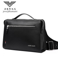 New Business shoulder bag men top quality leather handbag High end JOSEPHAMANI Brand messenger bag