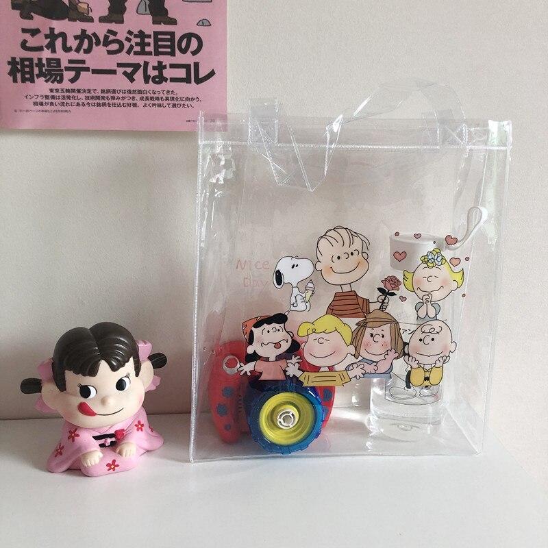 Cheng Pin Ins Rogue Dog Colorful Pattern Popular Fashion Beach Bags Pencil Bag Waterproof Totes Handbag Document Bag 3