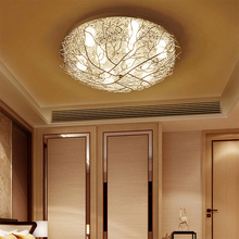 лучшая цена modern LED ceiling lights Fixture dining Living Room Bedroom ceiling lamp Decoration Indoor Lamp Design Art Creative lighting