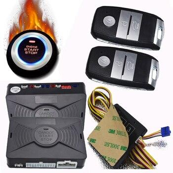 Cardot Passive Keyless Entry push start stop remote start Car Alarm System