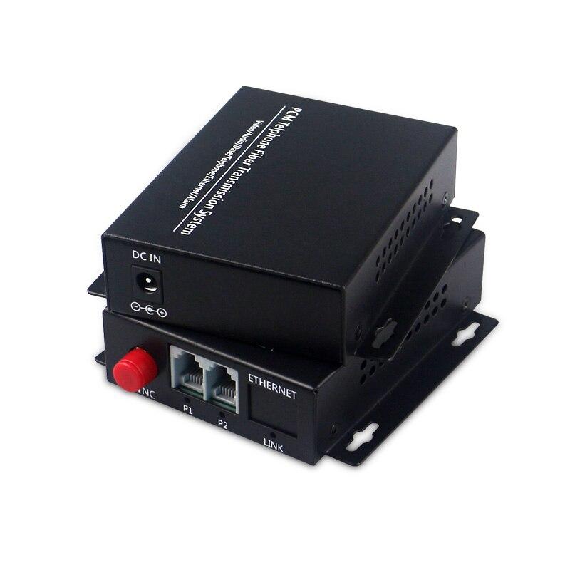 FXS FXO Voice Over Fiber Optical Multiplexer Telephone Line To Fiber Converter Fiber Optic Telephone Extenders