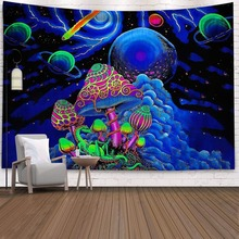 Moon Tapestry Cloth Decoration Wall-Blanket Flowers Beach-Towel Home Bedside Beautiful